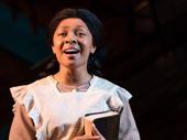 Jennie Harney as Nettie in The Color Purple.