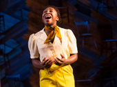 Cynthia Erivo as Celie in The Color Purple.