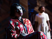 Jennifer Hudson as Shug Avery in The Color Purple.