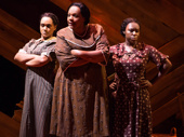 Rema Webb, Carrie Compere and Bre Jackson in The Color Purple.
