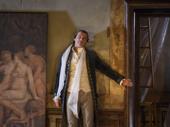 Liev Schreiber as Le Vicomte de Valmont in Les Liaisons Dangereuses.