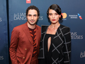 Fashion designer Zac Posen and model Crystal Renn look sharp.
