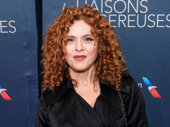 Tony winner and Broadway legend Bernadette Peters hits the opening night circuit.