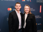 Before heading to the West End to reprise their roles in The Glass Menagerie, Tony nominee Brian J. Smith and Tony winner Cherry Jones step out for a Broadway opening.