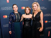 Les Liaisons Dangereuses' director Josie Rourke, producer Arielle Tepper Madover and producer Kate Pakenham celebrate their Broadway opening.