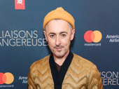 Tony winner Alan Cumming attends the Broadway opening of Les Liaisons Dangereuses.
