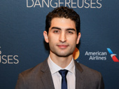 Raffi Barsoumian makes his Broadway debut in Les Liaisons Dangereuses.
