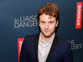Les Liaisons Dangereuses' Josh Salt celebrates his Broadway opening.
