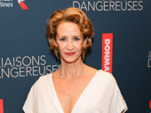 Janet McTeer dazzles on the red carpet.