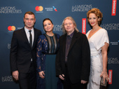 The seduction games have begun on Broadway! Les Liaisons Dangereuses star Liev Schreiber, director Josie Rourke, scribe Christopher Hampton and star Janet McTeer get together.