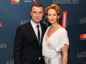 Congrats to Les Liaisons Dangereuses' red hot duo: Liev Schreiber and Janet McTeer! Catch them in the steamy play at the Booth Theatre through January 22, 2017.