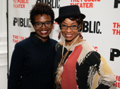 Tony winners LaChanze and Adriane Lenox hit the red carpet.