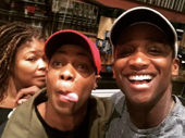 Kinky Boots star Todrick Hall is certainly taking in all Broadway has to offer! He snapped this fun shot with The Lion King star Jelani Remy after seeing the Tony-winning tuner.(Photo: Instagram.com/itsjelaniremy)