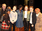 The force is with the Cursed Child cast! Daisy Ridley, star of Star Wars: The Force Awakens, recently caught the London's most magical play.(Photo: Twitter.com/HPPlayLDN)