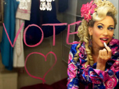 You've got to be loud! Queen Lesli wants you to get out and vote on November 8. Remember: even if you're little, you can do a lot!(Photo: Twitter.com/QueenLesli)
