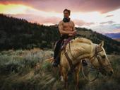 Ooh la la! Broadway hunk Billy Magnussen on a stallion is always a good idea.(Photo: Instagram.com/billymagnussen)
