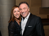 Theater couple Paige Davis and Patrick Page get together.