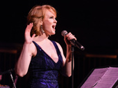 "Kate Baldwin, who will appear in the highly anticipated revival of Hello, Dolly! this spring, dazzles the crowd. She performs ""Hard Candy Christmas"" from The Best Little Whorehouse in Texas."