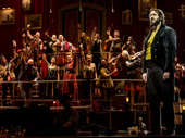 Josh Groban as Pierre and the cast of Natasha, Pierre and the Great Comet of 1812.