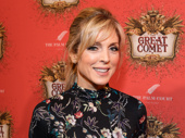 Actress Marla Maples attends the Broadway opening of Natasha, Pierre and the Great Comet of 1812.