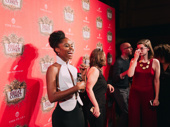 Denée Benton is all smiles for her Broadway debut.