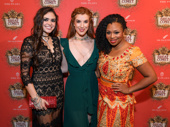 Natasha, Pierre and the Great Comet of 1812's Ashley Pérez Flanagan, Courtney Bassett and Sumayya Ali are definitely decked out for a Russian fete!