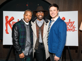 Todrick Hall, original Lola and Kinky Boots Tony winner Billy Porter and Aaron C. Finley snap an adorable pic.