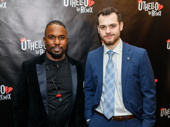Othello: The Remix understudies Roderick Lawrence and Alex Marz step out.