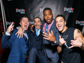 Cheers to Shakespeare getting his cool cred! Othello: The Remix stars Jackson Doran, JQ, Postell Pringle and GQ get silly. Catch the off-Broadway production at the Westside Theatre!