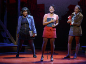 Ariana DeBose as Jane and the cast of A Bronx Tale.
