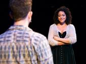 Nick Blaemire as Jon and Lilli Cooper as Susan in Tick, Tick...BOOM!.