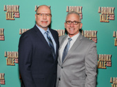 Paper Mill Playhouse's Managing Director Todd Schmidt and Producing Artistic Director Mark S. Hoebee attend the Broadway opening of A Bronx Tale, which premiered at the Paper Mill Playhouse early this year.