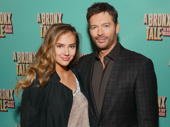 Two-time Tony nominee Harry Connick Jr. and his daughter Charlotte attend the Broadway opening of A Bronx Tale.