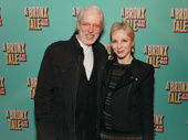 Theater couple Terrence Mann and Charlotte d'Amboise hit the red carpet for A Bronx Tale.