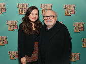 Emmy winner and Broadway-bound star Danny DeVito and his daughter Lucy snap a pic.