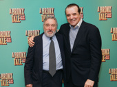 A Bronx Tale's Robert De Niro and Chazz Palminteri celebrate bringing Palminteri's story from the silver screen to the Great White Way.