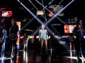 Ben Platt and the cast of Dear Evan Hansen.(Original Broadway cast)