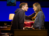 Ben Platt as Evan Hansen and Laura Dreyfuss as Zoe Murphy in Dear Evan Hansen.(Original Broadway cast)