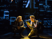 Mike Faist as Connor Murphy and Ben Platt as Evan Hansen in Dear Evan Hansen.(Original Broadway cast)