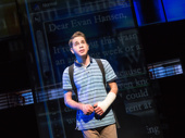 Ben Platt as Evan Hansen in Dear Evan Hansen.(Original Broadway cast)