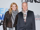 The Humans Tony winner Reed Birney and his daughter Augusta attend the Great White Way opening of Dear Evan Hansen.
