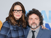 Emmy winner Tina Fey and her husband Jeff Richmond hit the Broadway opening night circuit. Fey and Richmond are currently collaborating on a stage adaptation of Mean Girls.