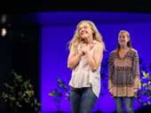 Dear Evan Hansen's Rachel Bay Jones takes in the crowd.