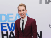 Dear Evan Hansen headliner Ben Platt is all smiles for his opening night.