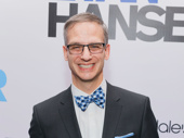 Dear Evan Hansen sound designer Nevin Steinberg hits the red carpet.