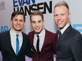 Dear Evan Hansen's music duo Benj Pasek and Justin Paul get together with the tuner's headliner Ben Platt.