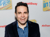 Broadway alum Mario Cantone hits the red carpet.