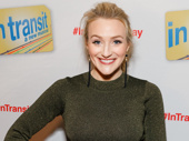 Falsettos' Betsy Wolfe strikes a pose.