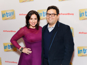 Husband-and-wife songwriting team Kristen Anderson-Lopez and Robert Lopez celebrate Kristen's Broadway debut as a co-creator for In Transit.