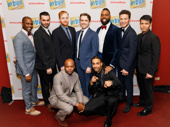 In Transit's handsome gents suit up for their Broadway opening.